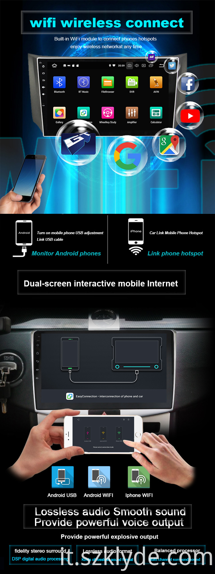 Octa core car auto Capture