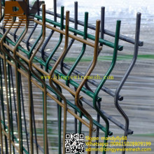 Cerca del jardín de acero de la malla de alambre doble del cercado 358 de la seguridad