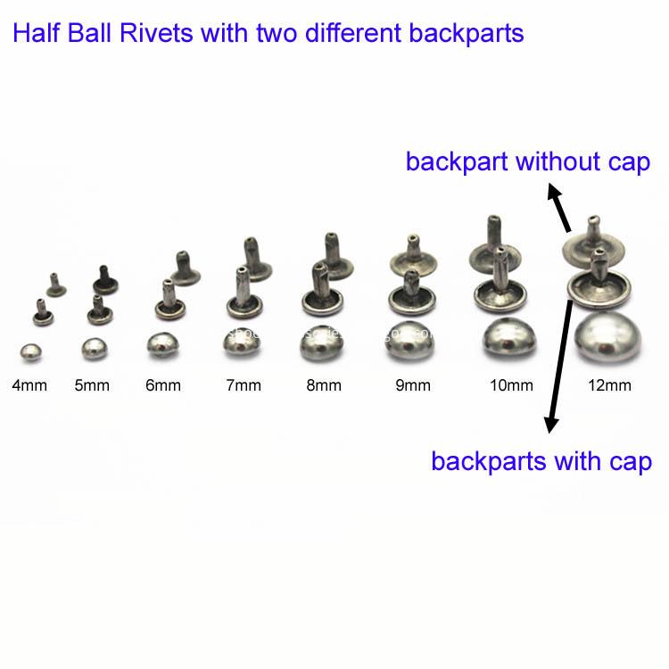 Half Ball Rivets Studs