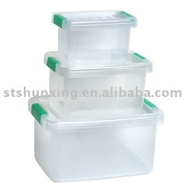 attractive price a suit plastic transparent box for home keeping fresh food