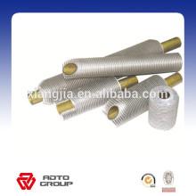 Tubo con aletas de aluminio y acero, tubo de aleta de cobre