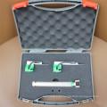 Laringoscópio de fibra óptica com 5 lâminas reutilizáveis