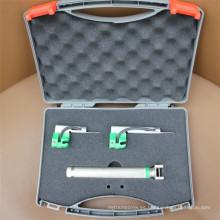 Laringoscopio de fibra óptica con 5 hojas reutilizables