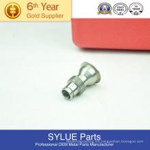 piezas del torno de giro del prototipo del metal del CNC Piezas que muelen hechas girar del metal