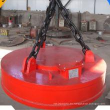 Electroimán de elevación de cuerpo de fundición para chatarra de acero
