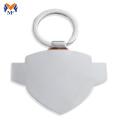 Porte-clés en émail gravé sur mesure en métal