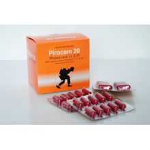 Medicine Grade Piroxicam Capsule