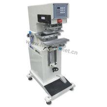 Almofada máquina de impressão, impressora de almofada Hot venda automática uma cor abrir sistema de tinta caneca pad máquina de impressão