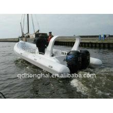 Полужесткие надувная лодка 2013 RIB730B с салона яхты