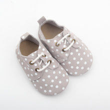 Venta al por mayor Soft Sole Kids Leather Toddler Shoes
