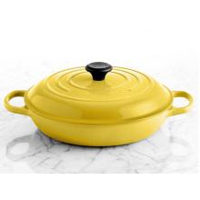Émaillée élégante en fonte casserole Casserole