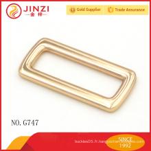 Boucle de sangle réglable en alliage de zinc de haute qualité