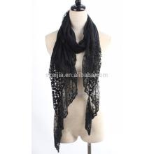Moda damas crochet bufanda de encaje