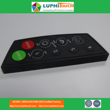 Bottom price for Colorful Silicone Rubber Keypads Laser Etching Backlight Boat Using Silicone Rubber Keypad supply to Portugal Exporter
