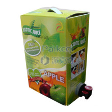 Saco de suco de maçã em caixa / babador / suco de frutas