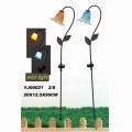 Metall Außendekoration Solar Licht Garten Stake Handwerk