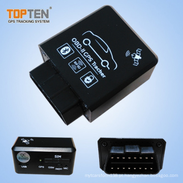 Plug & Play OBD GPS Tracker com RFID e Bluetooth Diagnósticos TK228-ER