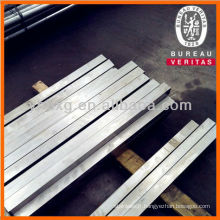 Barre carrée en acier inox 317L