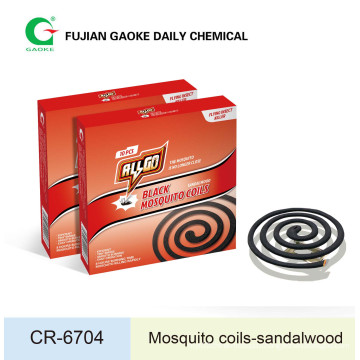 Black Mosquito Coil (with tiny smoke)