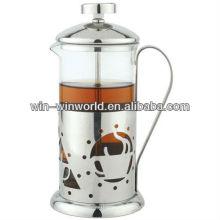 Klassische Handpresse Kaffee und Tee Maker