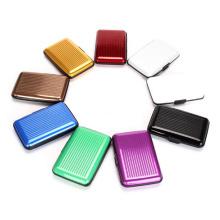 Mini porte-cartes en aluminium à la mode (SR6438)