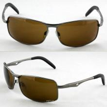 Gafas de sol estupendas del metal de los deportes de la calidad de la manera con CE (14227)