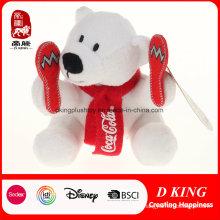 Custom Plush Coca-Cola Bears Promotion Gift Sports Bear