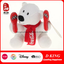 Изготовленный На Заказ Плюш Кока-Кола Мишки Подарок Промотирования Спортов Медведь