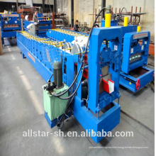 used aluminum gutter roll forming machine made in China