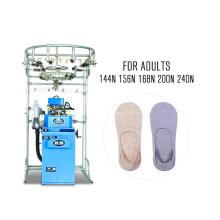 automatische flache Socke, die Maschine für unsichtbare Socken der Baumwolle herstellt (RB-6FP)