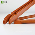 17.5 inch round bar family shirt wholesale colored wooden hangers