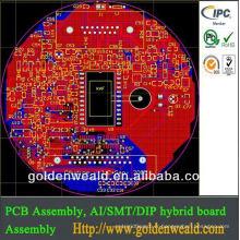 Assemblage de PCB de contrôleur à distance Fabrication d'électronique pour le contrôleur de traffice