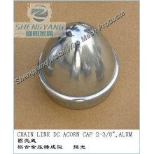 galvanized post cap
