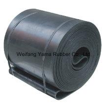Ancho de la cinta transportadora de caucho de poliéster de 1500 mm a 2200 mm para plantas de gas, planta de hierro y acero Planta de cemento