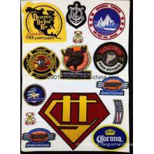 2015 New Embroidery Badges Garment Acessório