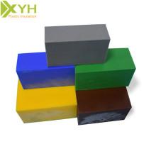 Plaques plates en plastique polyacétal coloré de POM