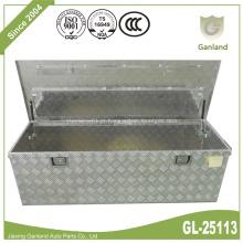 Caixa de ferramentas underbed de alumínio da porta da placa do diamante