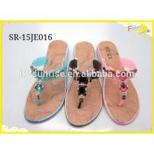2015 Damen neue Styles mit flachen Slipper Schuhe