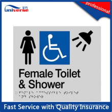 Braille Bathroom Signs for Australia Market (YW798)