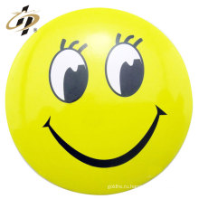 Домашнее украшение поставки желтого цвета изготовленный на заказ значок pin кнопка смайлики