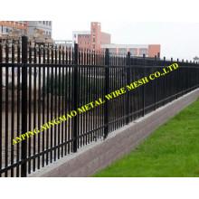 1800mmx2400mm Heavy Duty Black Powder Garrison Security Fencing (XMS19)