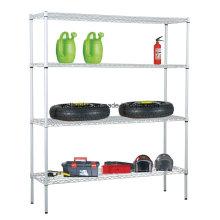 NSF étagère en acier ajustable bannière entrepôt rack de stockage