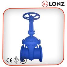 DIN3202 F5 Углеродистая сталь Wcb Фланцевый запорный клапан DIN