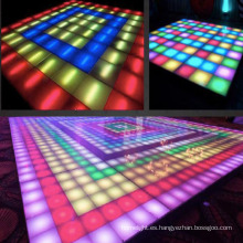 RGB Color LED Dance Floor para banquetes de boda