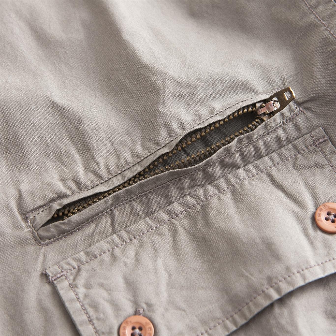 Men's Khaki Tooling Pocket Shirt