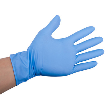 Wholesale safety protection disposable nitrile latex gloves