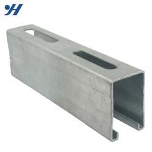 Slotted Steel Hot Dip galvanisierter C-Kanal