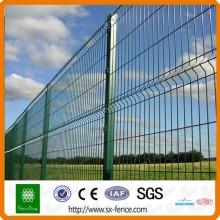 CER hohe Sicherheit heiß-eingetauchter galvanisierter Metallfalten-Maschendrahtzaun