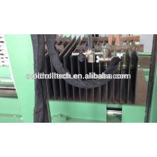 Machine ondulée de soudure d'aileron pour la fabrication de réservoir de transformateur