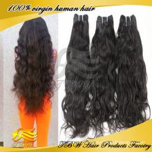 2015 novo estilo de cabelo espanhol onda atacado Remy brasileiro cabelo tecelagem